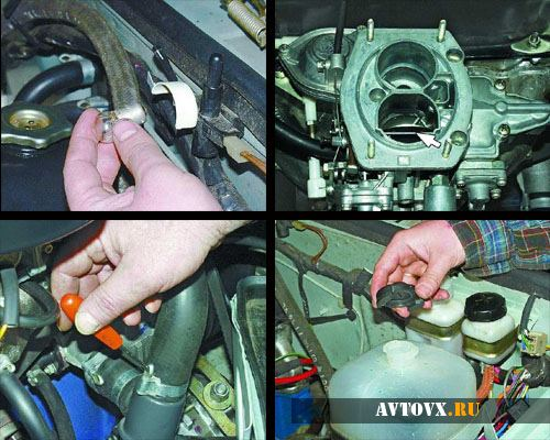 Система охлаждения мотора ВАЗ 2106