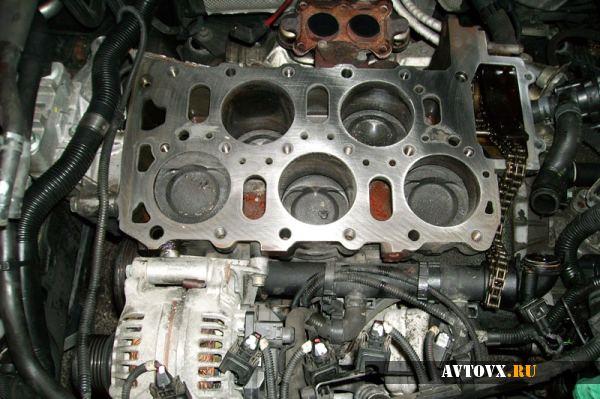 Автомобильный мотор и его объем