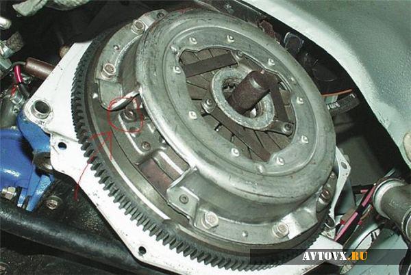Сцепление и его элементы в ВАЗ 2106