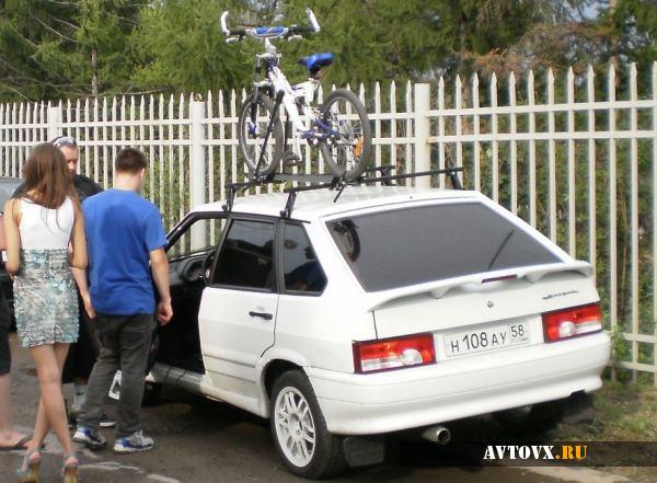 Рейлинговый багажник на ВАЗ