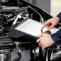 Проведение компьютерной диагностики двигателя автомобиля фото
