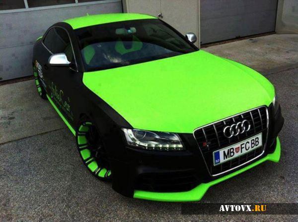 Audi A5 в жидкой резине