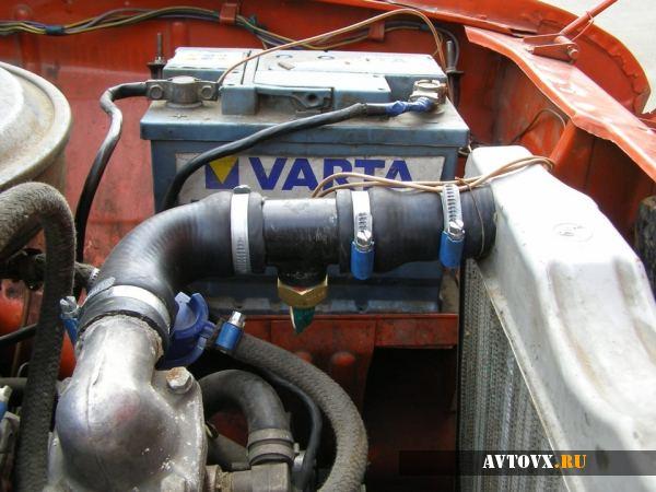 Система охлаждения двигателя ВАЗ 2106