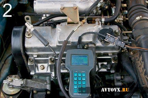 Проверка двигателя ВАЗ 2109