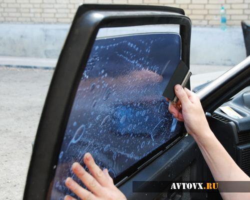 Тонируем стекла авто