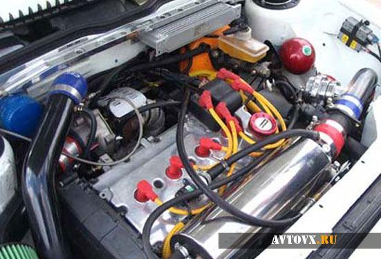 Тюнинг мотора ВАЗ 2110