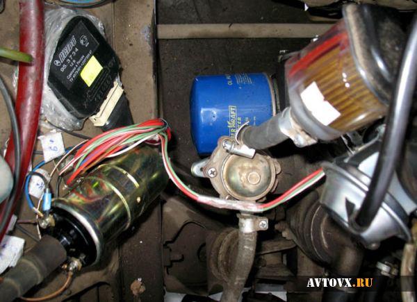Установка зажигания в автомобиле ВАЗ 2107