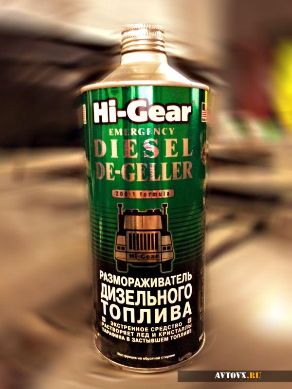 Антигели для дизельного топлива от топовых производителей