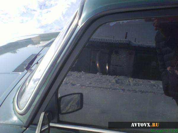 ВАЗ с тонировкой боковых стекол