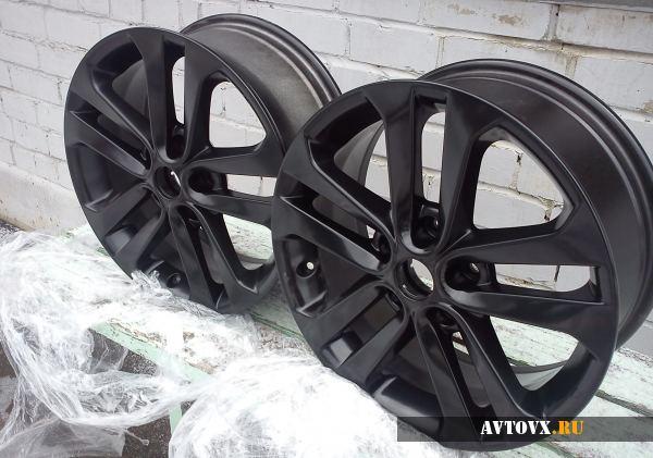Стильные литые черные диски