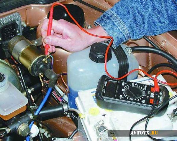 Катушка зажигания проверка ВАЗ 2106
