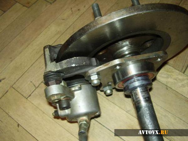 Внешний вид тормозной системы ВАЗ 2106