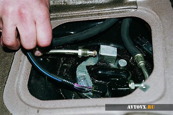 Датчик топлива ВАЗ 2110