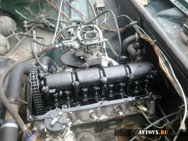 Внешний вид двигателя в ВАЗ 2106