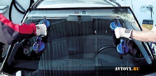 Снятие лобового стекла ВАЗ 2110