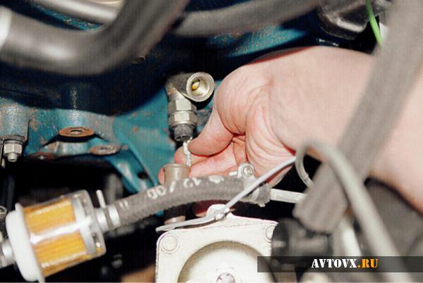 Датчик давления масла проверка в ВАЗ 2110