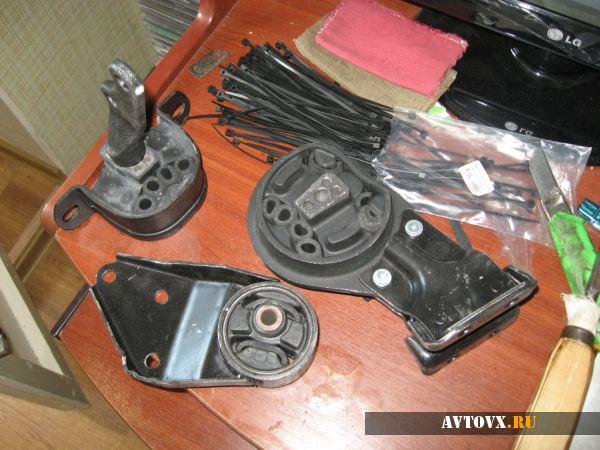 Подушка двигателя и монтажный комплект ВАЗ 2114