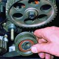Обслуживание и замена ГРМ своими руками в автомобиле ВАЗ 2106 фото