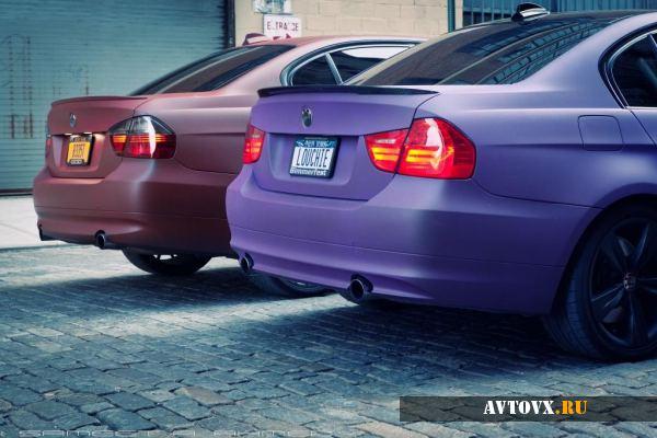 BMW 3 в жидкой резине