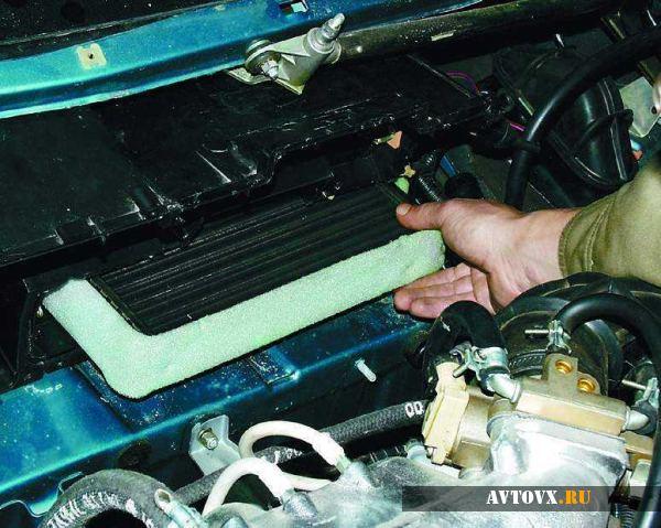 Обслуживание радиатора печки ВАЗ 2110