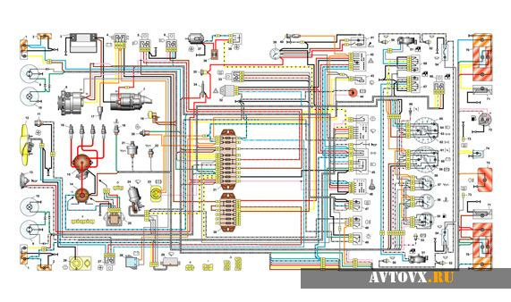 Электрическая схема реле света