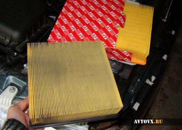 Замена воздушного фильтра ВАЗ 2110