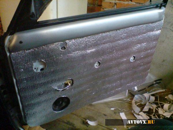 Шумоизоляция дверей так же важна, как и остальных частей автомобиля