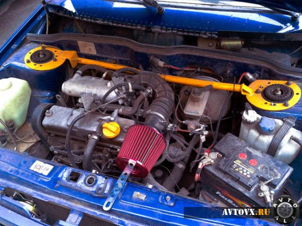 ВАЗ 2114 троит двигатель