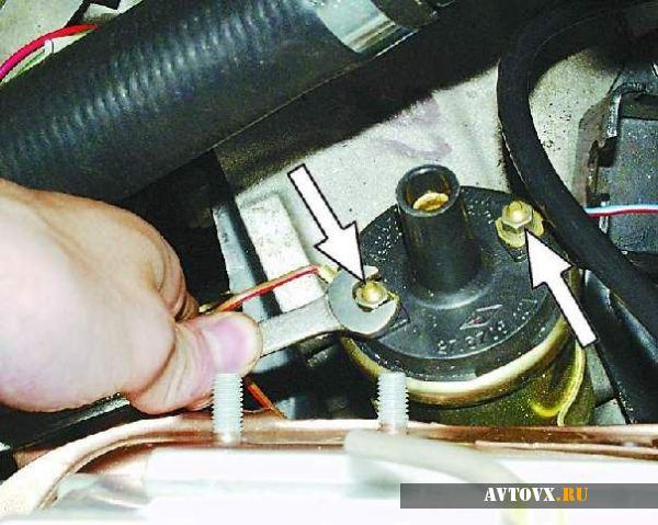 Катушка зажигания подключение в ВАЗ 2106