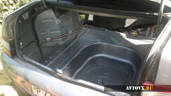 Вид багажника в ВАЗ 2110