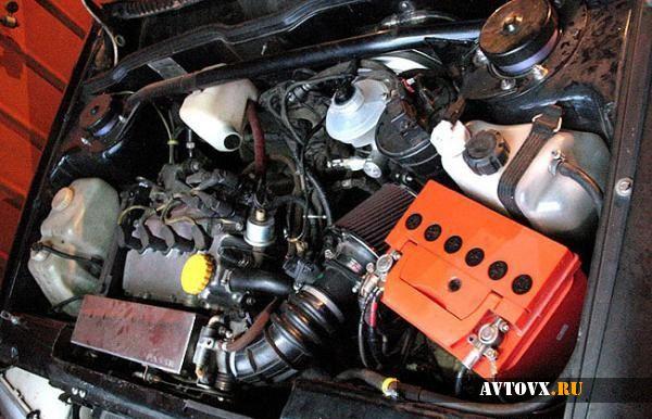 Определяем объем двигателя