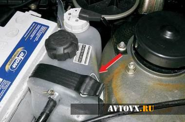 Система охлаждения двигателя ВАЗ 2110