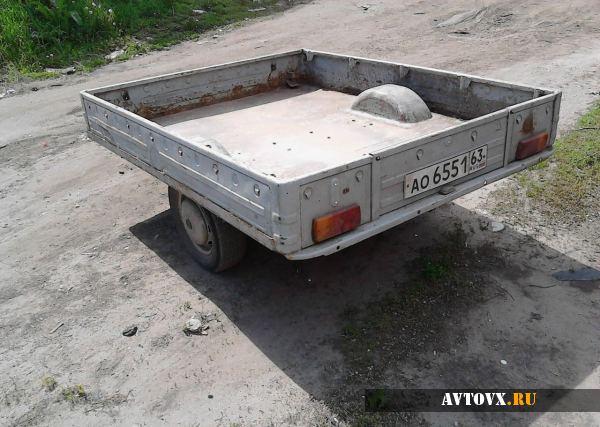Удобный и вместительный прицеп для автомобиля