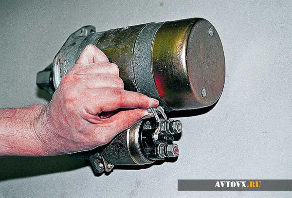 Ремонт стартера двигателя ВАЗ 2106