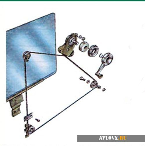 Схема стеклоподъемников для ваз 2106