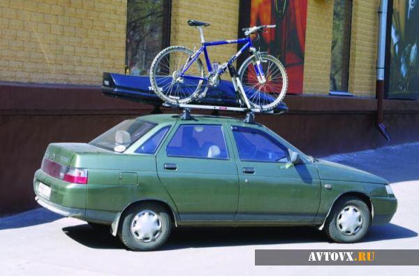 Багажник на крышу автомобиля ВАЗ 2110