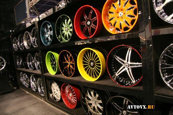 Широкий выбор вариантов для порошковой покраски дисков