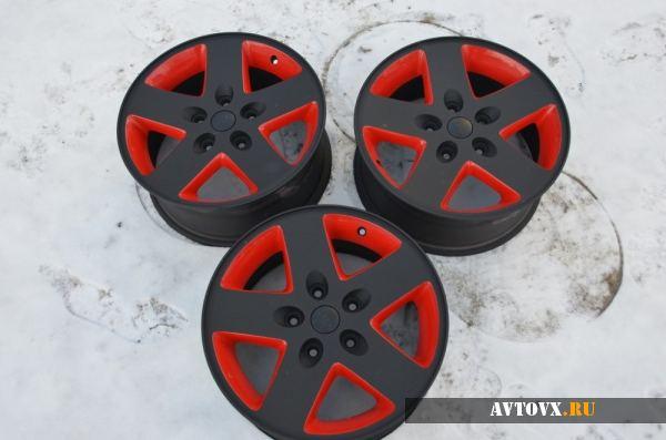 Художественная покраска литых автомобильных дисков