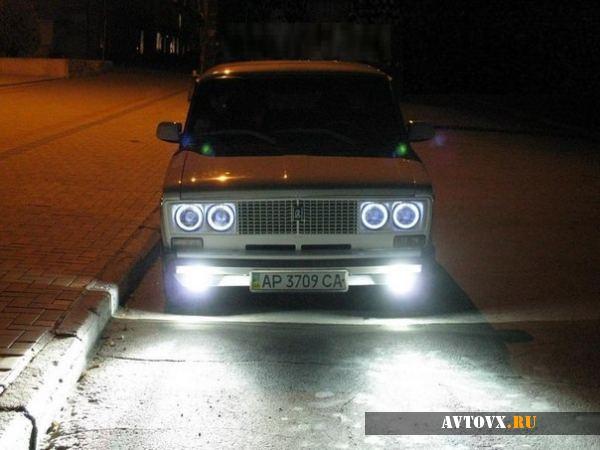 Фары на автомобиле ВАЗ 2106
