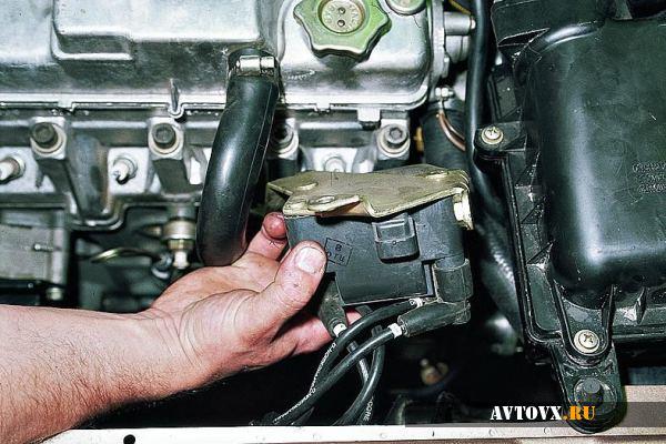 Катушка зажигания демонтаж в ВАЗ 2110