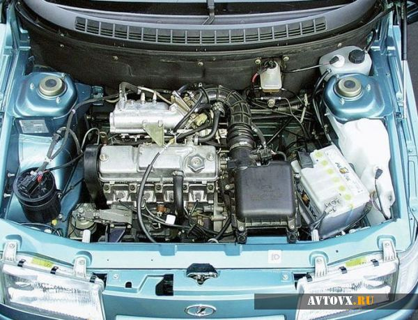 Внешний вид двигателя ВАЗ 2110
