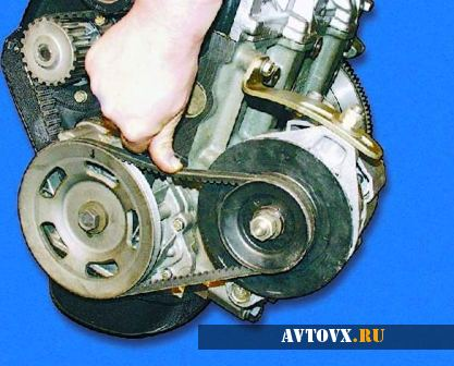 Замена ремня генератора ВАЗ 2110