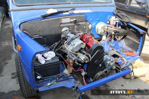 Тюнинг двигателя ВАЗ 2107
