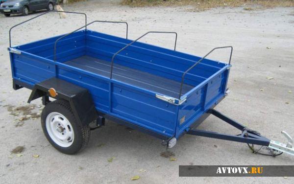 Новый заводской прицеп для перевозки различных по весу грузов