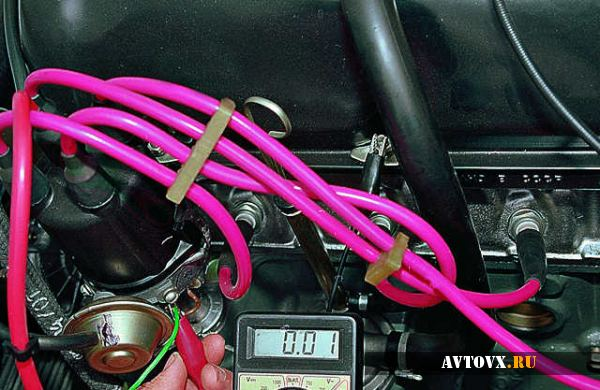 Проверка зажигания ВАЗ 2106