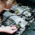 Технология замены масла в ВАЗ 2110 фото
