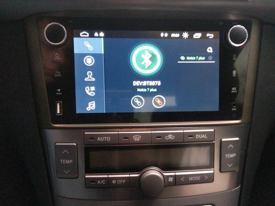 Штатные автомагнитолы для Toyota – новое в твоем автомобиле фото